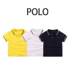 TANOSA Áo Polo trơn cho bé trai 8-25kg