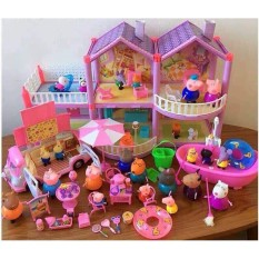 Bộ đồ chơi Ngôi nhà heo Peppa Pig