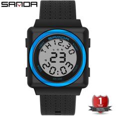 Đồng hồ Nữ Nam Unisex thể thao SANDA OXY JAPAN, Kiểu Dáng Apple Watch, Thương hiệu Nhật, Siêu Chống Nước – Đồng hồ nữ cao cấp, Đồng hồ nữ chống nước, Đồng hồ nữ thể thao, Đồng hồ nữ giá rẻ, Đồng hồ nữ kính sapphire