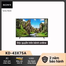 [Voucher 300k Follower]Smart Tivi Sony 4K 43 inch KD-43X75A