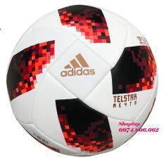 Quả bóng đá cao cấp World Cup 2018 Telstar Size 5 (Màu Đỏ)- Tặng kim bơm bóng
