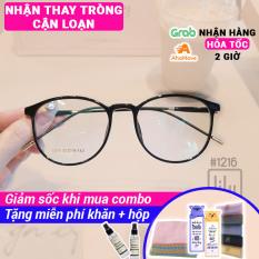 [Lấy mã giảm thêm 30%]Kính Cận Nam Nữ BBR 1216-Gọng Kính Mắt Tròn- Gọng Kính Cận Siêu Bền-Gọng Kính Cận Unisex-Gọng Kính Thời Trang-Lily Eyewear