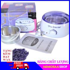 [ RẺ VÔ ĐỊCH ]-Nồi đun chảy sáp wax lông pro-Máy nung sáp wax tiện lợi – MIMOSAA