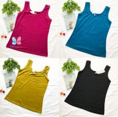 Áo Thun 2 Dây bản to Cho Nữ size 3XL từ 55-65kg MÀU TRƠN thun cotton 4 chiều mềm dày vừa mặc – AO18