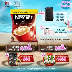 [Tặng ly sứ pastel] Cà phê rang xay hòa tan Nescafé 3in1 đậm đà hài hòa (Bịch 46 gói x 17g)