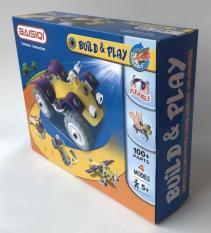 Bộ đồ chơi lắp ráp Baisiqi Build Play giúp bé luyện trí nhớ, tăng khả năng tư duy