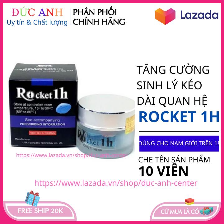1 Hộp Rocket 1H- Tăng Cường Sinh Lý Nam-Che Tên Sản phẩm