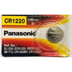 Pin CR1220 Panasonic 3V Lithium Vỉ 1 Viên
