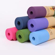 [LOẠI TỐT] thảm tập yoga 2 lớp, thảm tập yoga cao cấp, thảm tập yoga tpe 2 lớp 8mm