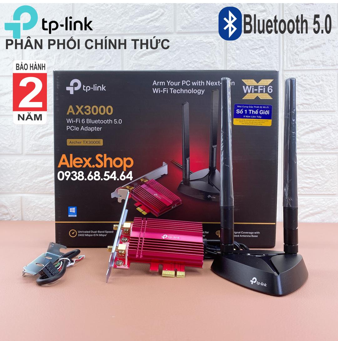 [Chính Hãng] Card Mạng TPLink TX3000E WiFi6 Có Bluetooth 5.0