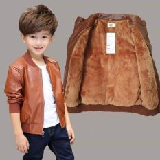 áo khoác da cho bé
