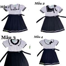 Váy học sinh tiểu học váy đồng phục học sinh cho bé gái từ 18-45kg XHN701