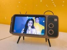 Loa bluetooth TV cổ điển, tương thích với tất cả các dòng điện thoại, có Jack 3.5 kết nối, làm giá đỡ điện thoại