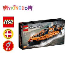MYKINGDOM – Đồ Chơi Lắp Ráp LEGO TECHNIC Ca nô Đệm Khí Cứu Hộ 42120 Cho Bé Trên 8 Tuổi (457 Pieces)