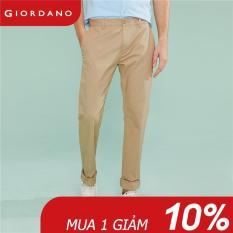 Quần dài nam form slim thiết kế đơn giản trẻ trung Giordano quốc tế 01119007