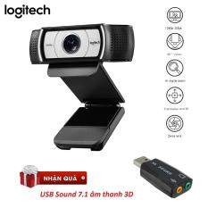 Webcam Logitech C930E HD 1080P – Tặng USB Sound 3D 7.1