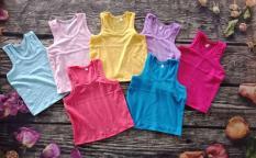 Set 5 áo thun ba lỗ cho bé trai bé gái