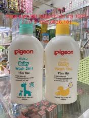 [ chuẩn hàng cty 100%] tắm gội PIGEON BABY 700ml