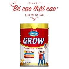Sữa Bột Vinamilk Dielac Grow 2+ 900g (cho bé 2 tuổi trở lên) – HSD Luôn Mới