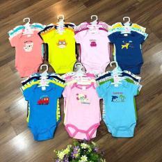 Set 5 body suit cộc tay cho bé yêu từ 0 -12 tháng (HÌNH NGẪU NHIÊN)