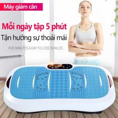 Máy tập gym có bluetooth đa năng máy tập rung giảm eo thon gọn âm thanh lập thể phát nhạc nhiều mức độ rung camry