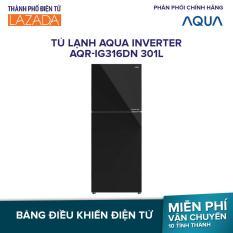 Tủ lạnh Aqua Inverter AQR-IG316DN 301L – Inverter tiết kiệm điện, Cấp đông mềm cho thực phẩm – Hàng phân phối chính hãng