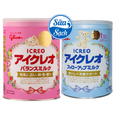Sữa Bột Glico Icreo Số 1 800Gr Date 7/2022