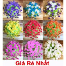 Combo 2 Bộ nguyên liệu làm hoa mai, cúc giấy Lụa (Gấm) – Hoa giấy lụa trang trí đón tết cực rẻ