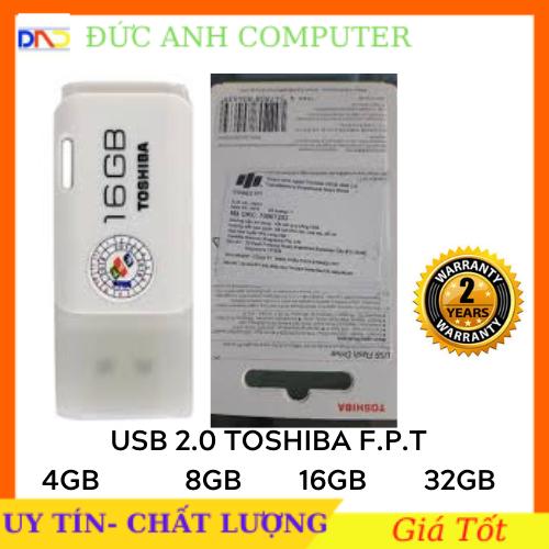 Usb 4G/ 8G/ 16G/ 32G TOSHIBA Chính Hãng F.P.T Phân Phối- Bảo Hành 2 Năm- Full Box