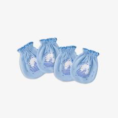 Set 2 đôi bao tay bèo gấu mây xanh – Miomio – dành cho bé từ 0-24 tháng, chất lượng đảm bảo an toàn đến sức khỏe người sử dụng, cam kết hàng đúng mô tả