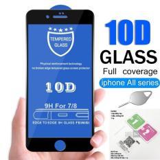 [Tặng que chọc sim + Gói keo viền] Kính cường lực 10D full màn hình dành cho iphone 6/6s 6Plus/6SPlus 7/8 7plus/8plus X/Xs Xr Xsmax độ cứng 9H siêu bền – thegioisilevip