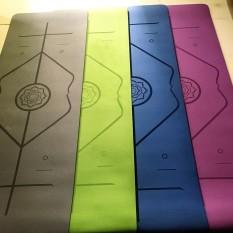 Thảm Tập Yoga Định Tuyến TPE 2 Lớp Dfay 8mm Chọn Màu miDoctor – Chính Hãng Amalife – Chọn Màu – Chọn Độ Dày + Bao Thảm Tập Yoga + Dây Buộc Thảm Tập Yoga