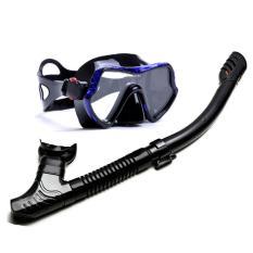 Bộ mặt nạ lặn biển, ống thở lận biển mắt kính cường lực, tràn viền POPO M1, mặt nạ lặn chuyên nghiệp tầm nhìn rộng POPO Collection