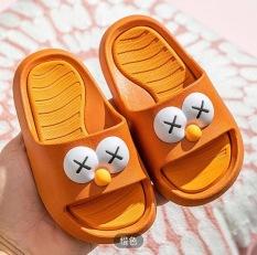 Dép Cho Bé Trai Bé Gái – Dép lê quai ngang hình chú hề mặt cười siêu mềm êm chân có chống trơn cho bé | H5