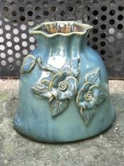 Bình hoa đắp nổi gốm sứ Bát Tràng 12
