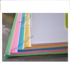 Bìa cứng A4 5 màu (100 tờ/xấp)