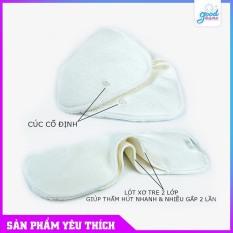 [HCM]Lót đêm Size M 1 Miếng lót tã vải siêu chống tràn Goodmama lót xơ tre 6 lớp