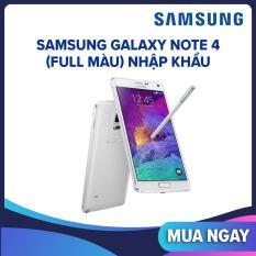 Samsung Galaxy Note 4 (full màu) nhập khẩu