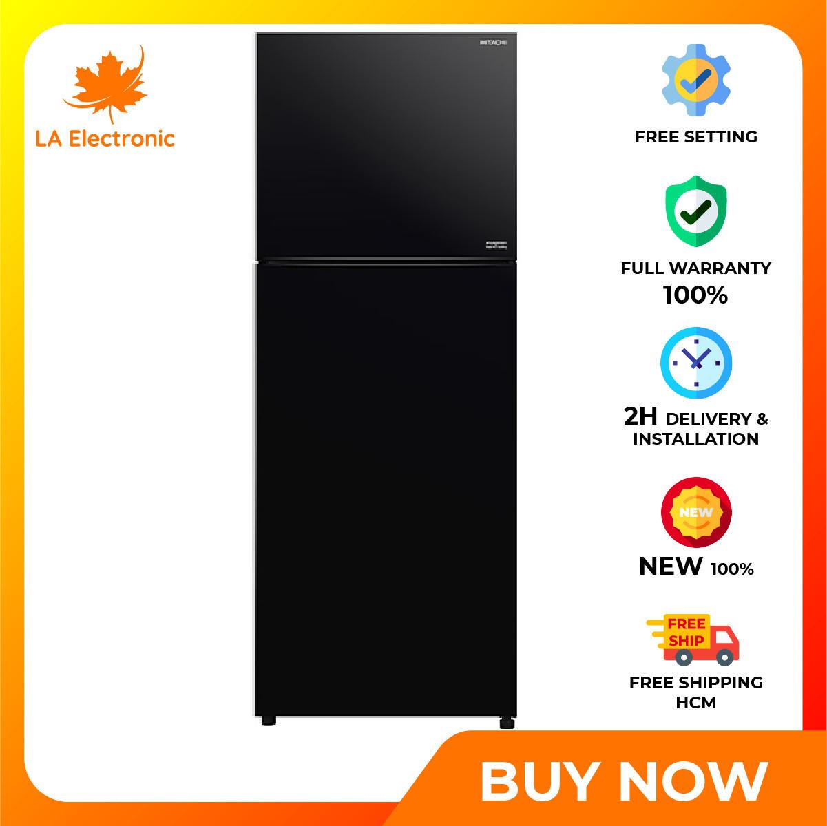 Trả Góp 0% – Tủ lạnh Hitachi Inverter 406 Lít R-FVY510PGV0(GBK) – Miễn phí vận chuyển HCM