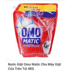 Nước Giặt OMO Túi 4Kg (Đỏ)