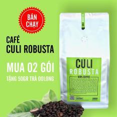 Cà phê Culi Robusta nguyên chất 500g – The Kaffeine Coffee