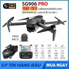 [2 PIN] Flycam SG906 Pro Camera 4k có gimbal chống rung bay 25p xa 1200m động cơ brushless có tự bay về