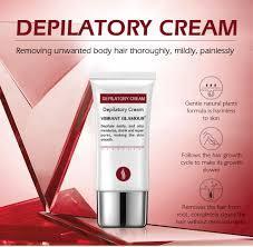 Vibrant Glamour Kem Tẩy Lông Tái Tạo Da Tự Nhiên an Toàn Depilatory Cream Hair Removal