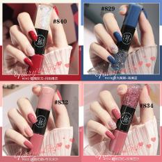 Sơn móng tay hai màu SANIYE màu kẹo không thấm nước N8071 – INTL