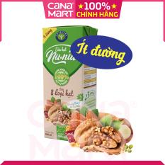 Thùng sữa 8 loại hạt Nutricare Nunut ít đường (180ml x 48 hộp)
