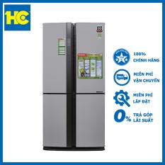 Tủ lạnh SBS Sharp Inverter 556 lít SJ-FX631V-SL – Miễn phí vận chuyển & lắp đặt – Bảo hành chính hãng