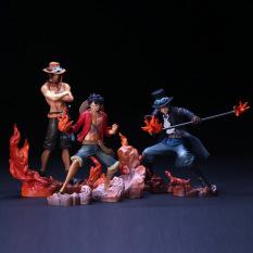 Bộ 3 Mô Hình Luffy – ACE – SABO Figure One Piece Đảo Hải Tặc