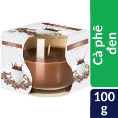 Ly nến thơm tinh dầu Bispol Coffee 100g – Cà phê đen. Nến thơm phòng, trang trí, khử mùi, giảm stress, sáp thơm phòng, nến nhập khẩu