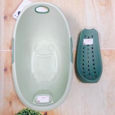 Chậu tắm Elip kèm võng tắm – Màu ngẫu nhiên