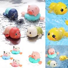 Thú bơi nhà tắm vặn cót nhiều hình rùa, vịt , bò , heo cho bé